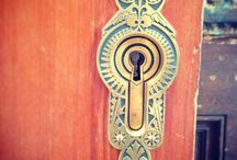 lock and key / by Charlotte Downes