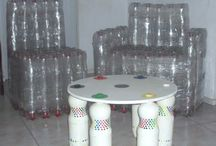 recycled plastic bottle furniture