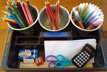Organising stationery and crafts / Innovative ideas for organising stationery and crafts