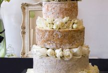 Cheese Wedding Cakes / A selection of the many different looks you can create with your favourite cheeses.