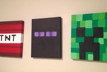 Minecraft Bedroom / Make it minecraft