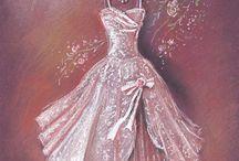 платье пастель