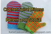 Crochet Mittens/Gloves/Armwarmers
