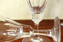 crystal flute glasses