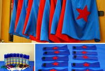 Super Hero Birthday Party / by Kimberly Mahaffey