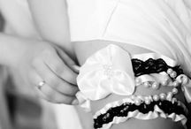 Real NB Brides / My beautiful brides in their handmade garters by Natalie Briggs