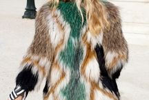 Fashion Faux Fur / Go ahead and wear it on the street