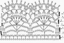 crochet kant diagram