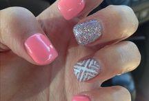 Nail tip designs acrylic