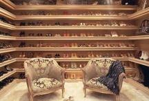 Ideas for a shoe Closet