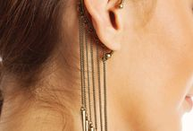 Punck rock earring