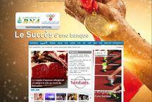 Digital advertising / Exemples de display digital sur la plate forme Tunivisions.net
