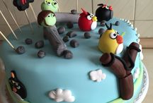Angry birds / Cake cookie