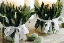 Asztali dìsz - esküvő