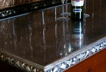 Pewter Counter Tops