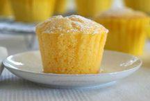 Lemon yogurt muffins g f