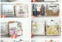 scrapbook + journaling
