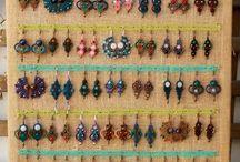 Macrame earring