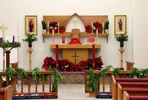 Church Altar Flowers