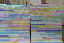 Jelly Roll Quilt / A mommy Emmy project / by Louise Welsh