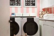 Laundry Room / Inspiration for my own laundry room.