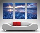 3 Panel Wall Art Canvas / This stunning collection of Triptych Art, split canvases is available in a variety of sizes. The canvas image has been split into three large panels and makes a great center piece for any wall.