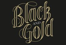 Black and Gold / by Harding University