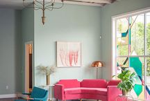 dream home / wall and couch inspiration
