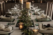 Christmas Table Dressing