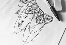 Mandalas' sketchez