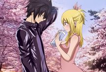 gray and lucy