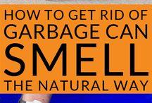 Got a smelly stinky garbage can?