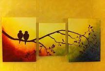 pinturas acrílico