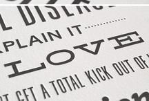 Typo / Typographies