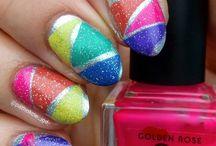 my Rainbow nails