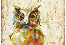 Owls, owls, owls!! / by Kim