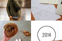 Learning to Knit in 2014!