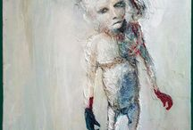 Marlene Dumas South African painter / Expressionist
