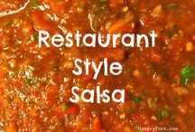 Salsa Recipes / Fresh Salsa Recipes