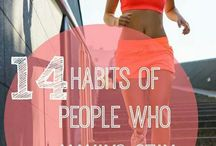 Fitness & Clean Eating / Wirkouts, tips for staying in shape