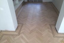 Oak Paquet flooring