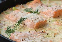 Middag-fisk