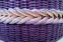 Kutilství ařemesla / Papírové pletení