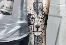 Tattoo leão
