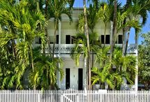 Bella Grand Premier ~ Exclusive #KeyWest Rental Estate ~ Monthly Rental / Classic romantic 1800's Key West architecture has inspired a superbly executed renovation of this extraordinary historic Victorian estate. 5BR 4BA Sleeps 12 - $12,000 (low season) - $20,000 (high season) per month.