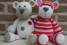 Crochet teddy