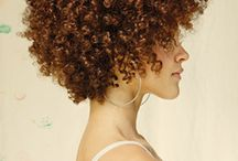 My Hair...how I see it. / Natural, coily, kinky, curly, African American Hair. / by WendyD