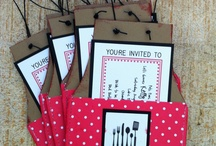 Stamp Projects / Paper Kitchen Apron