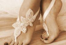 Wedding barefoot