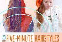 Hair ideas / Hair ideas for those busy mornings
